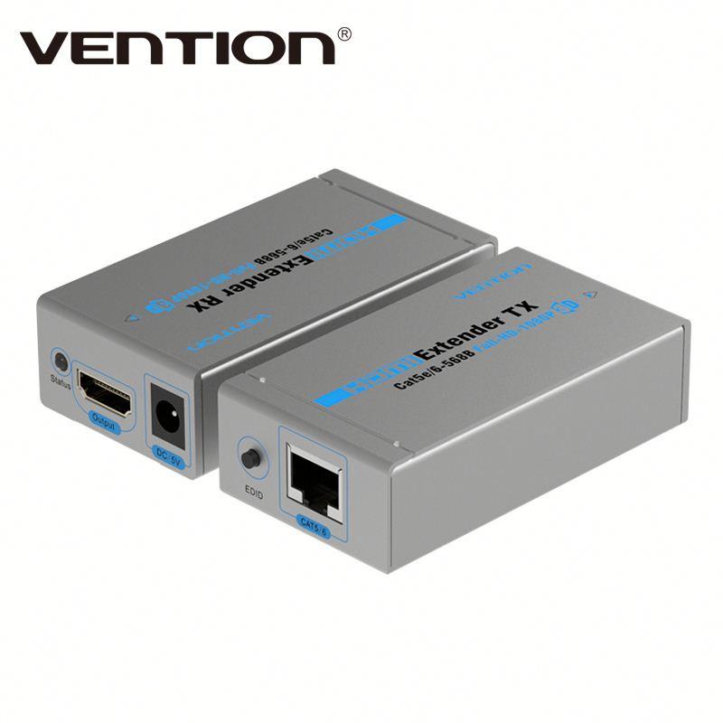 Bộ khuếch đại tín hiệu HDMI qua LAN 60m VAA-S21-S, HDMI to RJ45 - Hàng Chính Hãng