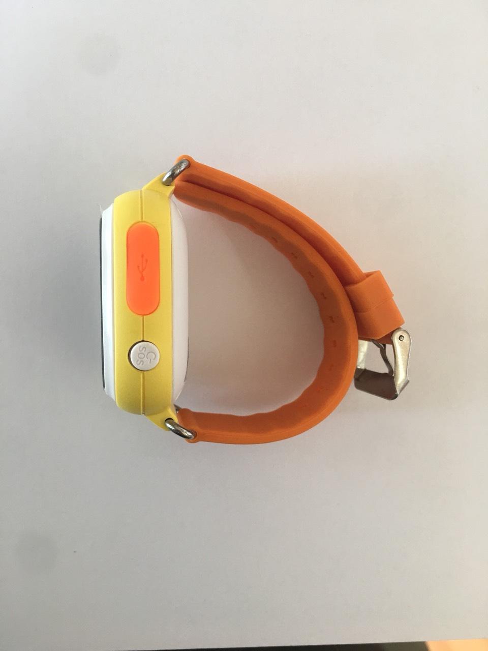 Đồng hồ định vị trẻ em  V8-04 ( mầu cam vang)