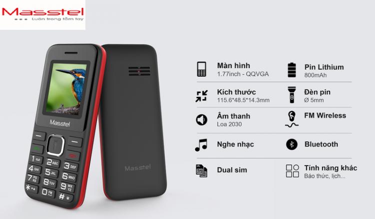 Điện thoại Masstel Izi 112 - Hàng chính hãng 4