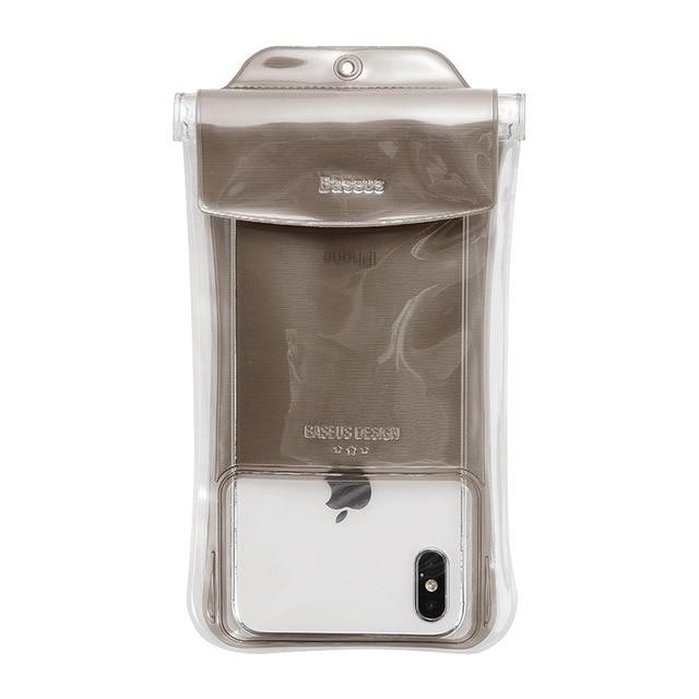 Túi chống nước Baseus Airbag 4 lớp  cho điện thoại 6.5 inch chuẩn chống nước IPx8 và chống chìm - Hàng chính hãng