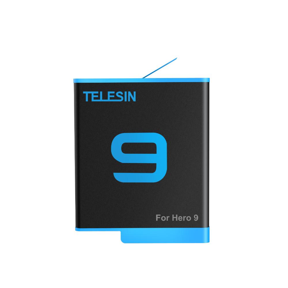 Pin Telesin cho Gopro Hero 9 - Pin Camera Hành Trình GoPro 9 (Hàng Chính hãng)