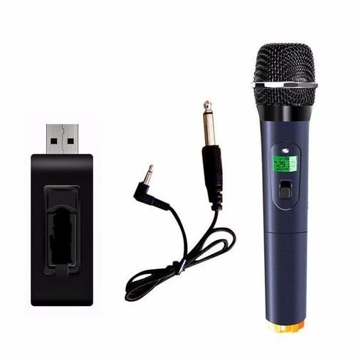 Micro không dây U12 đa năng dành Cho Loa Karaoke Bluetooth, Loa Kéo Mini chống nhiễu
