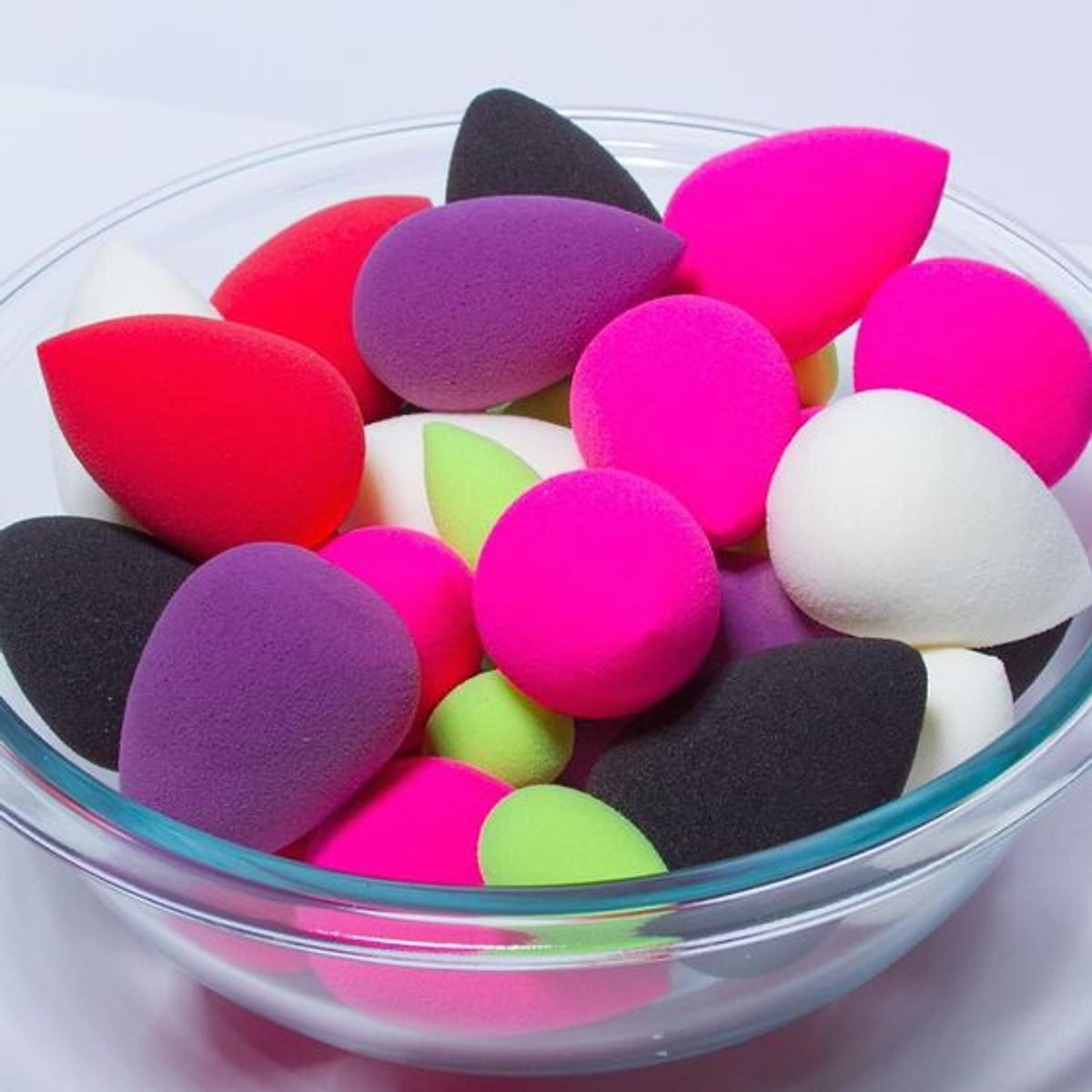 Bông mút tán kem nền tiện lợi MT02  nhiều màu khác nhau- Gừi màu ngẫu nhiên