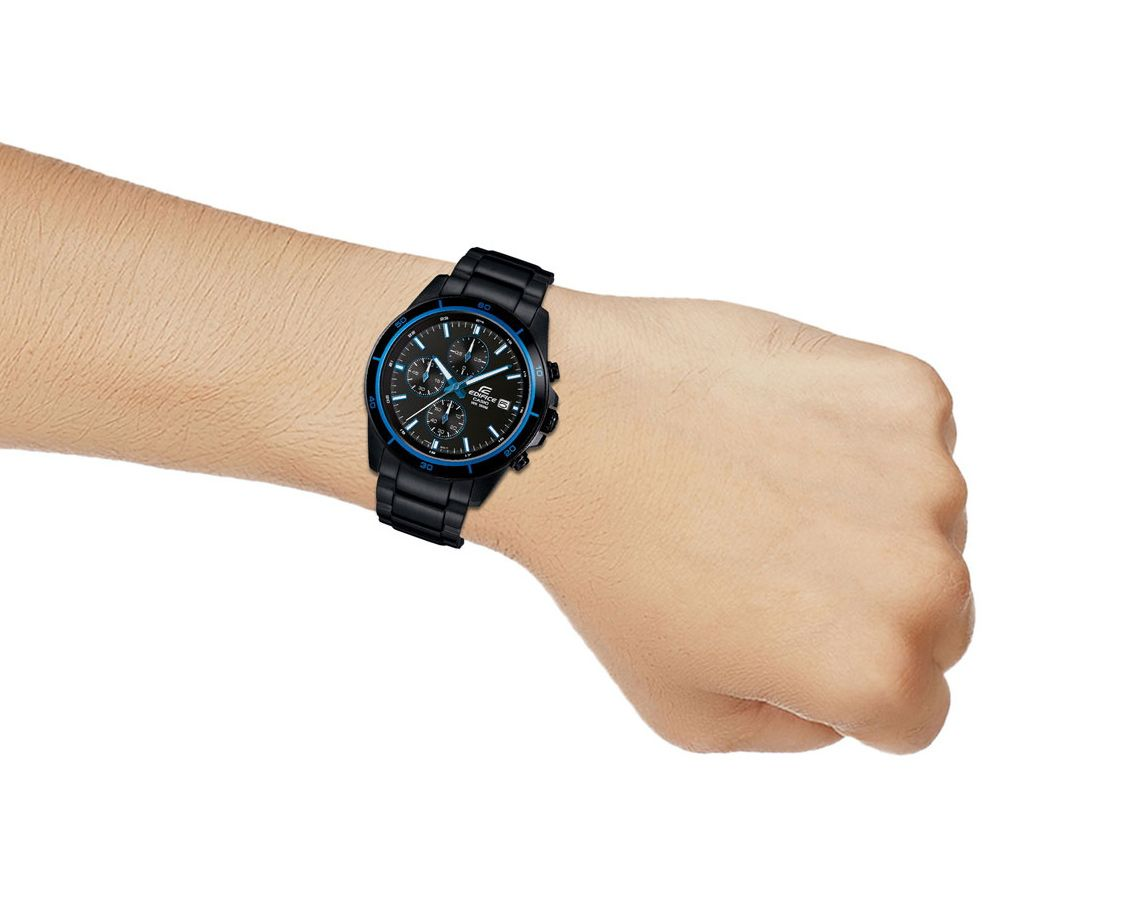 Đồng hồ nam dây kim loại Casio EDIFICE EFR-526BK-1A2VUDF