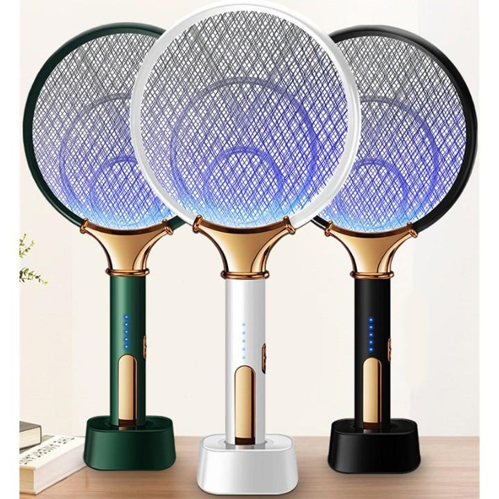 Vợt muỗi kiêm đèn bắt muỗi thông minh - Có chức năng bắt muỗi tự động cho bạn rảnh tay- An toàn khi sử dụng