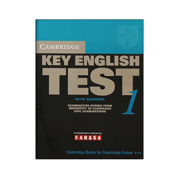 Cambridge Key English Test 1 with Answers Reprint Edition
