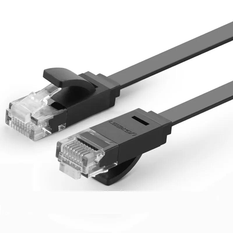 Cáp mạng LAN CAT6 UPT cáp dẹp 10M Ugreen LAN11240NW104 Hàng chính hãng