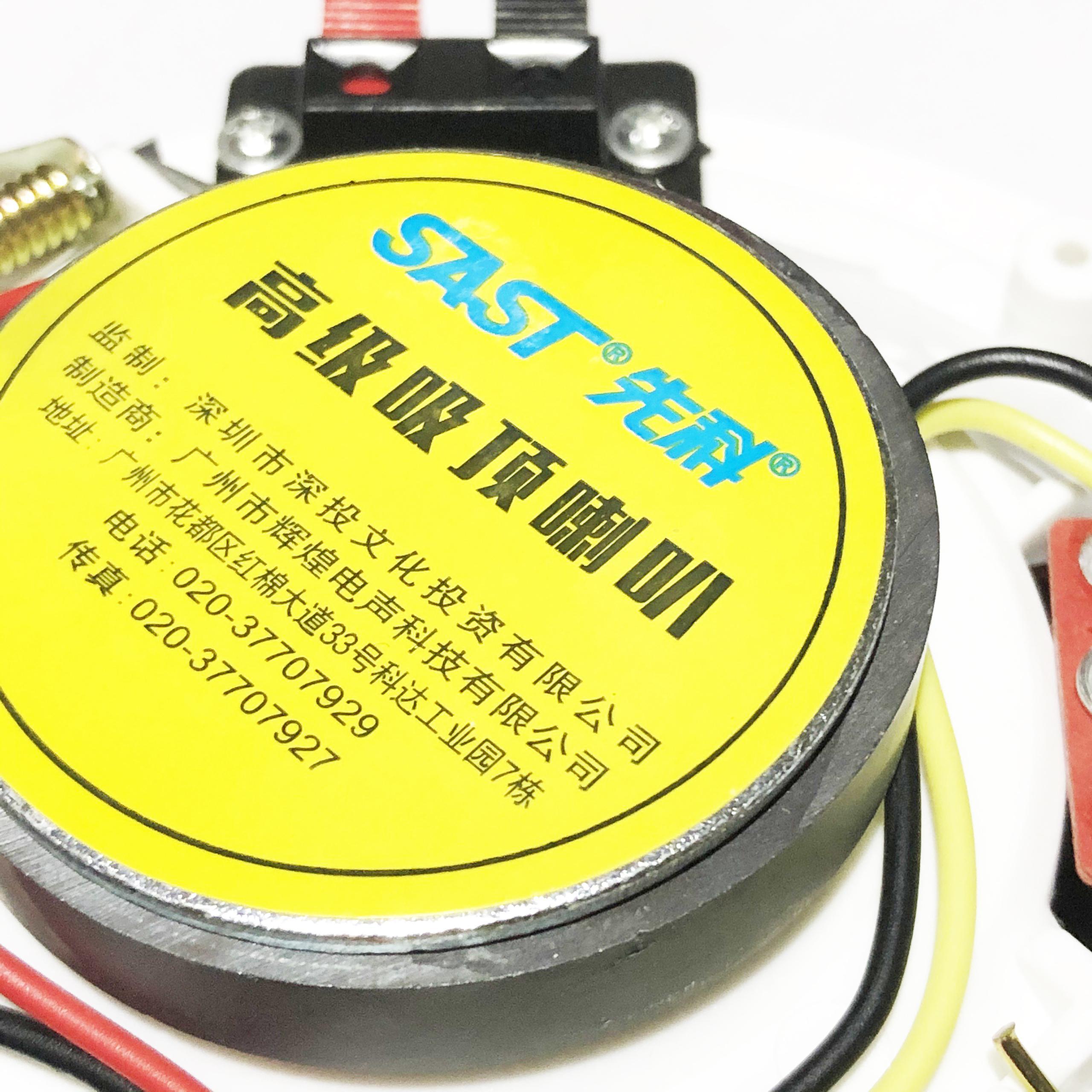 Bộ 02 Loa Âm Trần SAST Công Suất 6W Kích Thước 5 inch Mặt Tròn Lưới Mịn PD - Hàng Nhập Khẩu