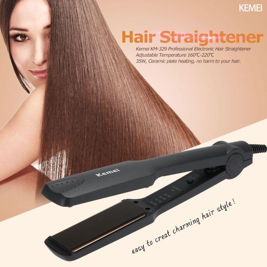 Máy làm tóc kemei KM329 bản to là tóc như ý