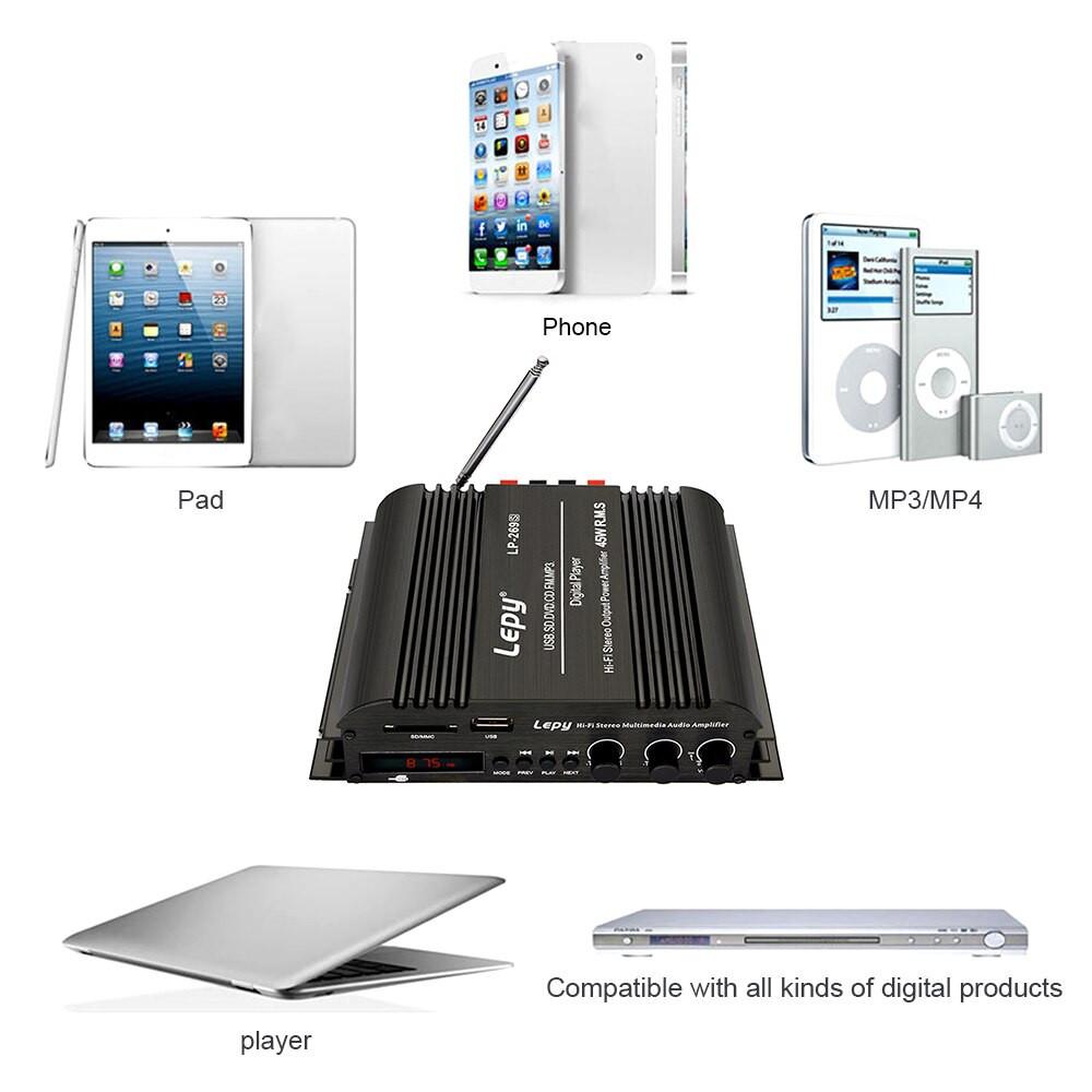 Ampli Bluetooth Công Suất Lớn VINETTEAM 269S LP-269S - Bộ Khuếch Đại Âm Thanh - hàng nhập khẩu