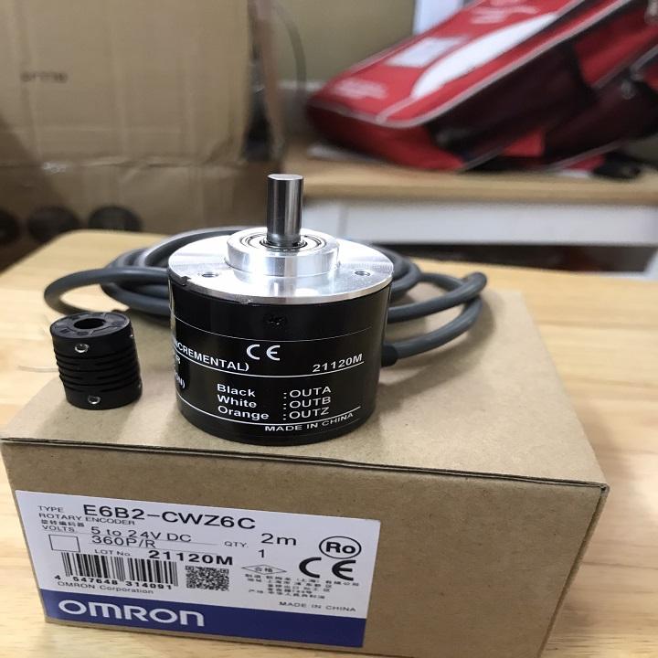 Bộ mã hóa vòng quay Encoder E6B2-CWZ6C 360P/R Hàng nhập khẩu