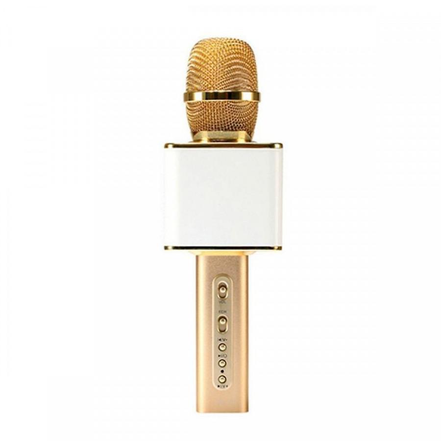 Mic Karaoke kiêm loa Bluetooth SD-08 - Có khe cắm thẻ nhớ và USB (Tặng kèm USB 4Gb Kingston) - Màu ngẫu nhiên