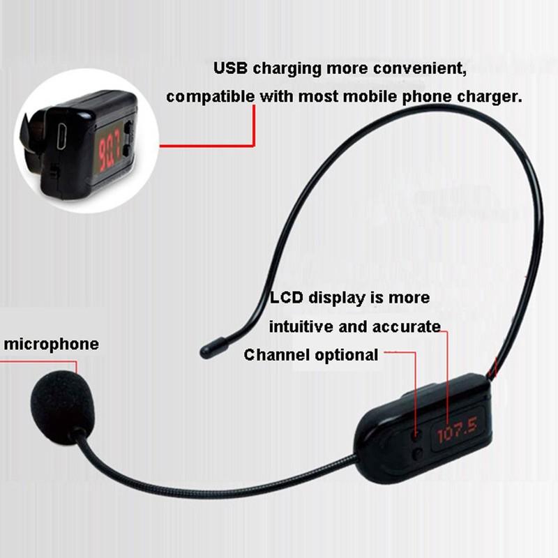 Micro Trợ Giảng Không Dây FM XXD-018