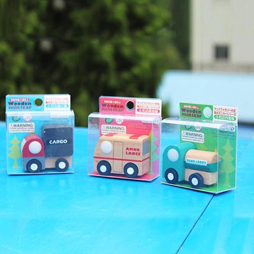 Đồ chơi gỗ mô hình đồ chơi 12 xe gỗ Nhật cao cấp cho bé