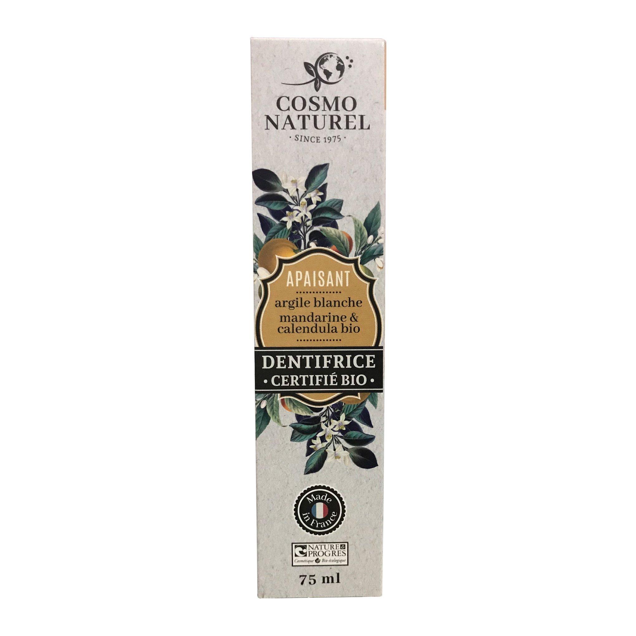 Kem đánh răng hữu cơ Gravier hương quýt