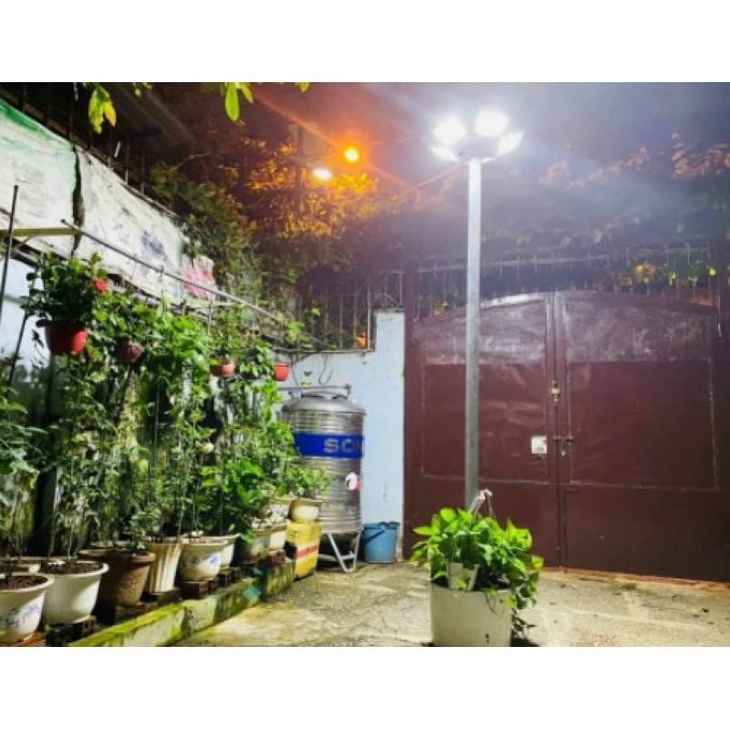 Đèn năng lượng mặt trời sân vườn, công viên UFO công suất 250W siêu sáng chống nước IP66
