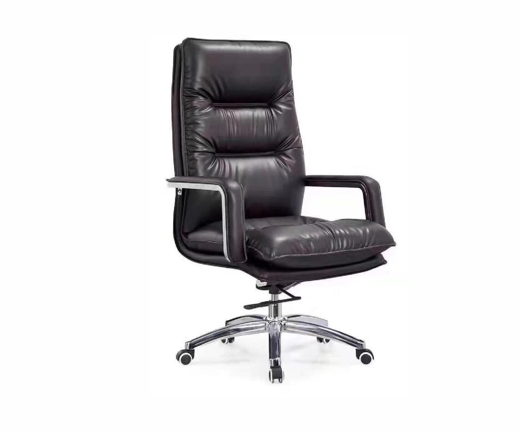 Ghế xoay văn phòng nhập khẩu MN-G256A (Đen)