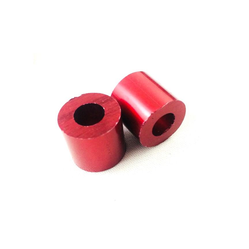 Bộ 2 gù chống đổ sau dành cho xe máy ( màu đỏ )