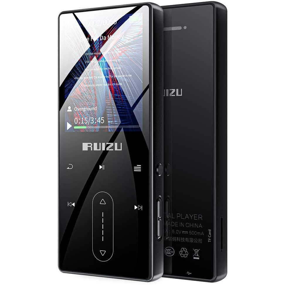 Máy Nghe Nhạc Ruizu D22 Lossless Bluetooth 4.1, Ghi Âm 3m, Loa Ngoài - Hàng chính hãng