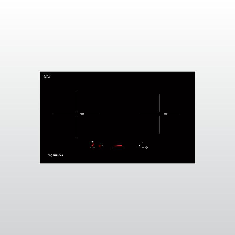 Bếp Âm Từ Đôi Malloca MI 732 SL (73cm) - Hàng Chính Hãng