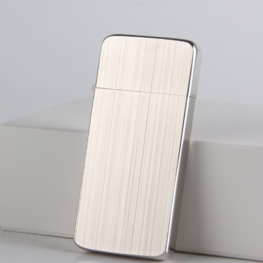 Combo Hộp Quẹt Bật Lửa Xăng Đá KZC5 Siêu Mỏng + Tặng Tai Nghe S6 Cảm Ứng Cao Cấp  (Màu Ngẫu Nhiên)