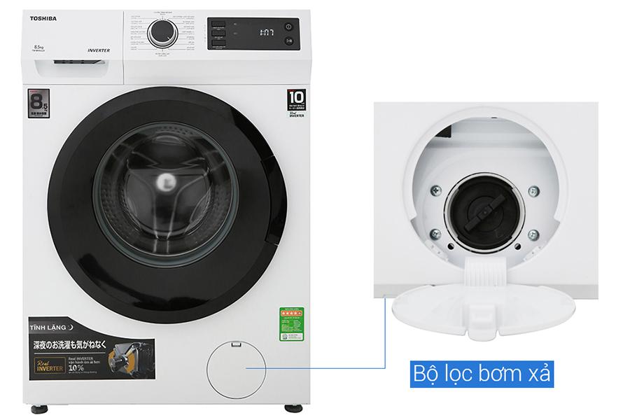 Hình ảnh Máy giặt Toshiba Inverter 8.5 Kg TW-BH95S2V WK