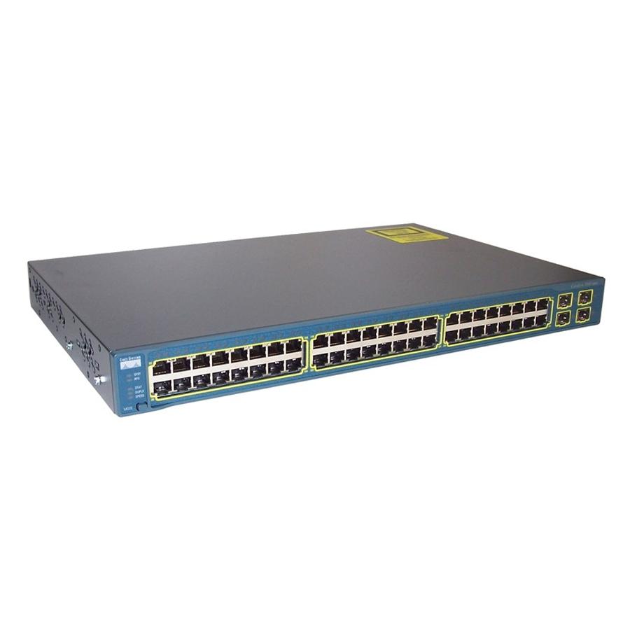 Thiết bị chuyển mạch Cisco WS-C3560-48TS-S Catalyst 3560 48 10/100 + 4 SFP Standard Image - Hàng Nhập Khẩu