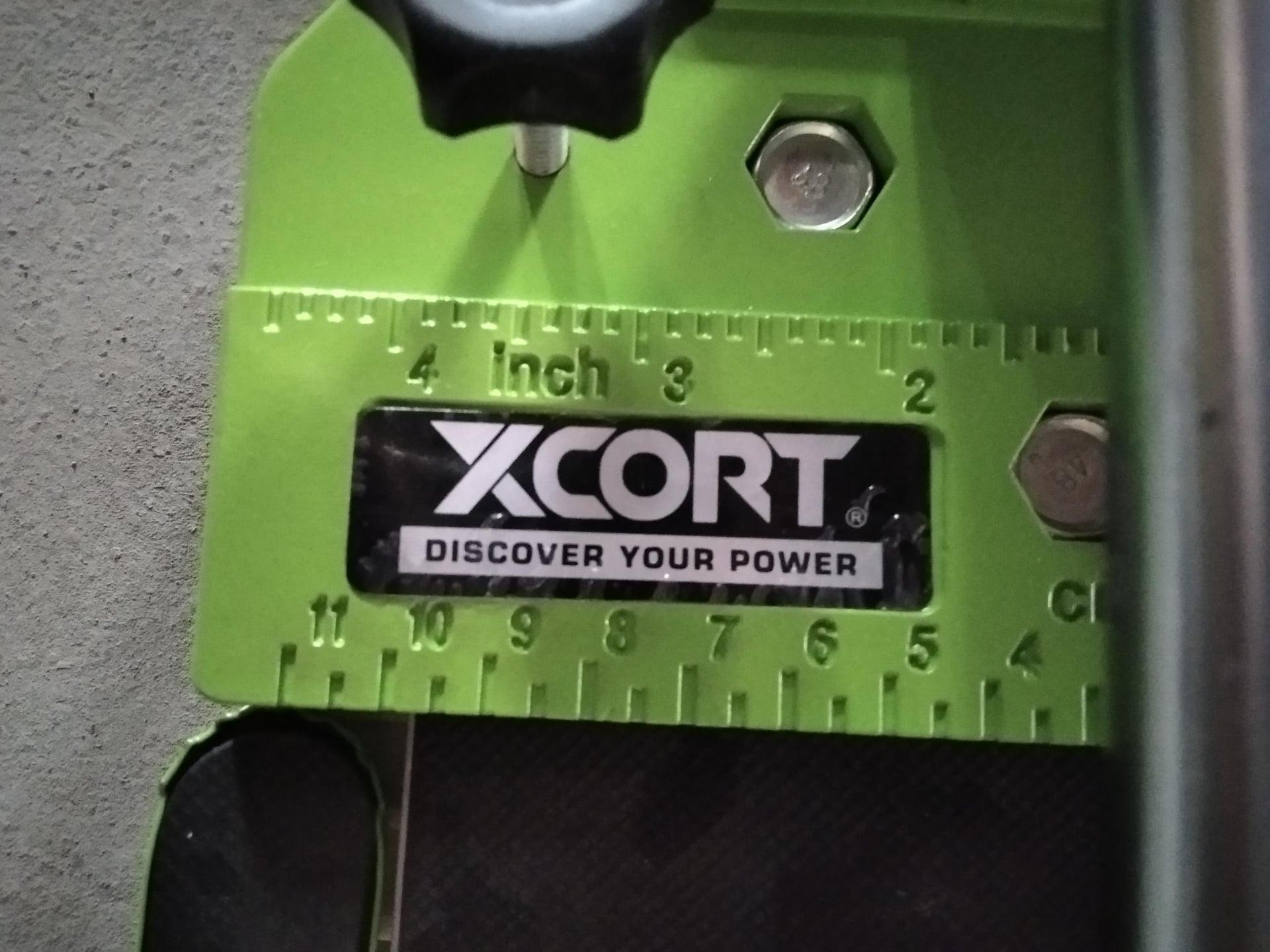 Máy cắt gạch-Máy cắt gạch bàn đẩy tay 600mm XCORT Có đèn Laser