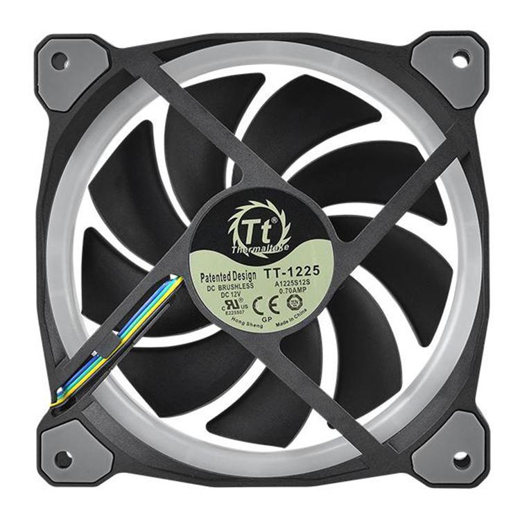 Bộ 3 Quạt Tản Nhiệt Thermaltake Riing Plus 12 RGB CL-F053-PL12SW-A - Hàng Chính Hãng