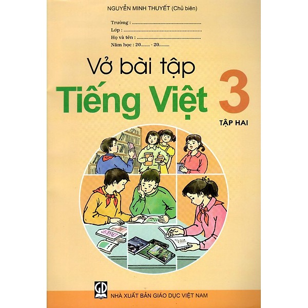 Vở Bài Tập Tiếng Việt Lớp 3 (Tập 2)