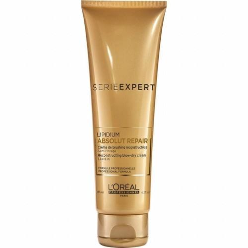 Kem xả khô chống nhiệt dành cho tóc hư tổn-Serie Expert Absolut Repair blow-dry cream leave-in