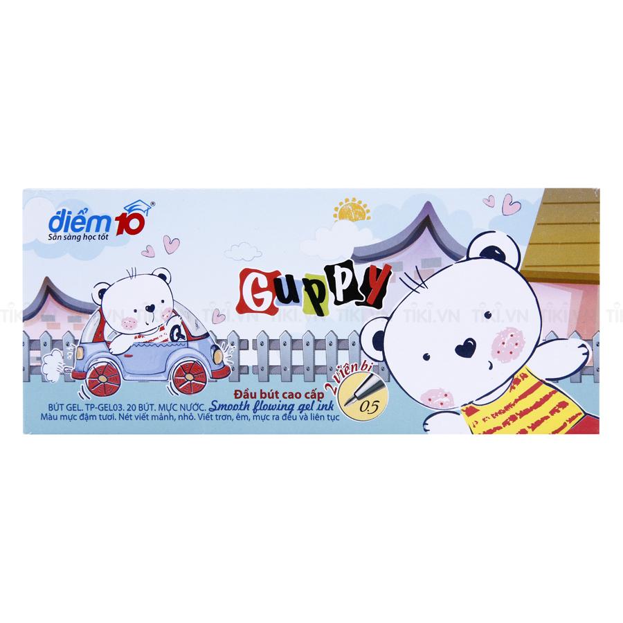Hộp 20 Bút Gel Thiên Long TP - GEL03
