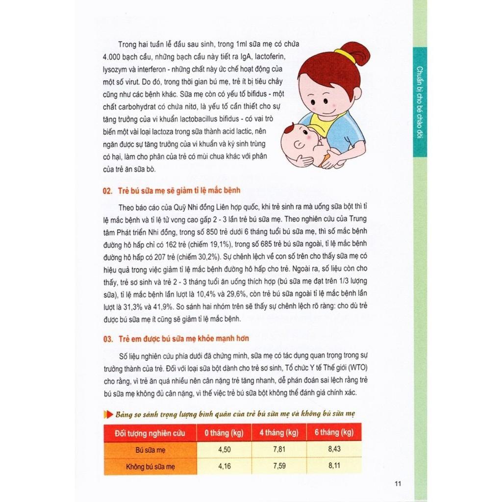 Combo 2 cuốn sách dành cho bà bầu -Âm nhạc Thai giáo + Thực đơn dinh dưỡng cho Trẻ từ 0-3 tuổi