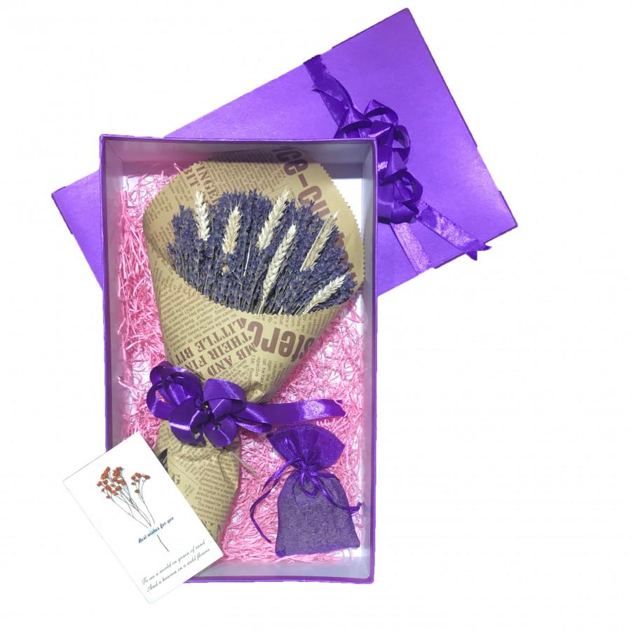 Set quà hoa lavender khô Pháp - Mẫu 29