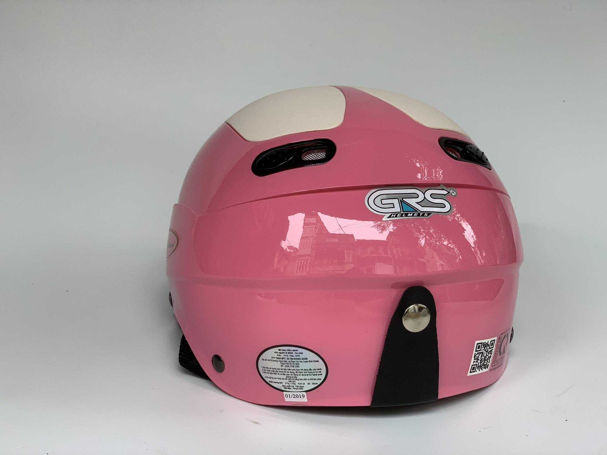 Mũ Bảo Hiểm Nửa Đầu GRS 102