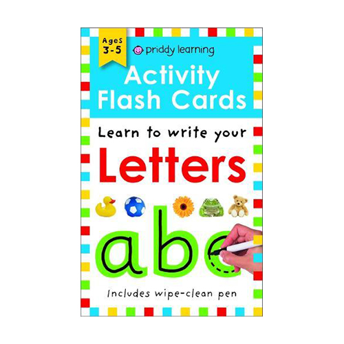 Activity Flash Cards Letters - Activity Flash Cards (Paperback)
