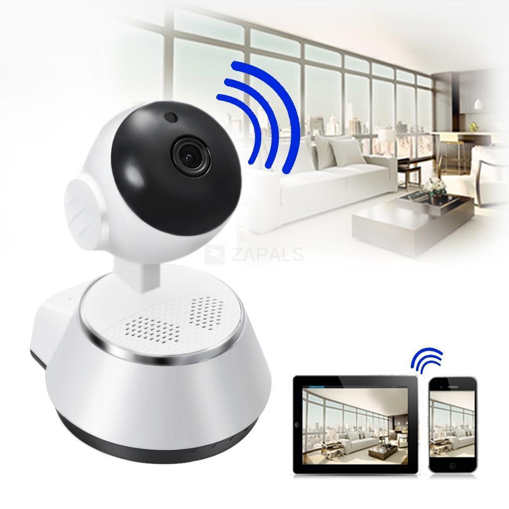 Camera Không Dây Thông Minh 360 Độ IP Wifi V380Pro Đàm Thoại 2 Chiều