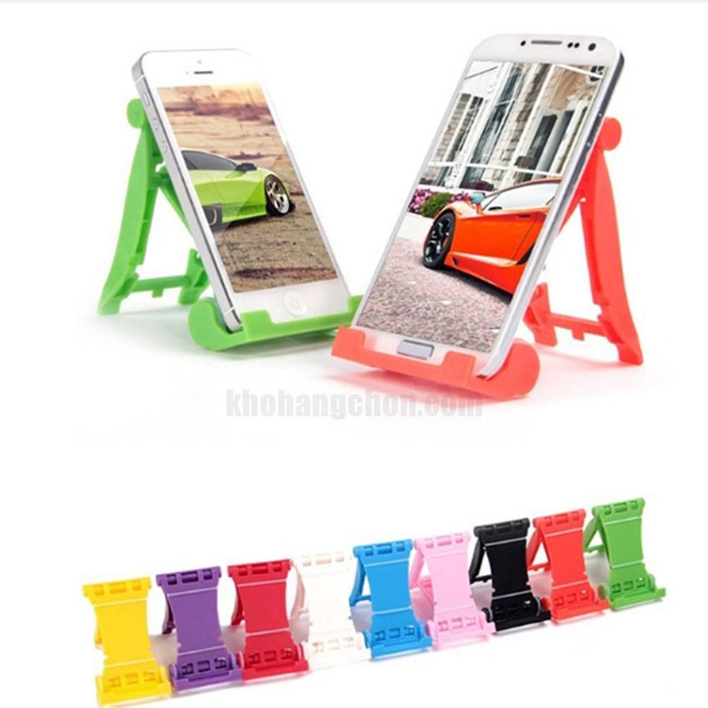 Giá đỡ điện thoại, máy tính bảng hình ghế xếp gọn (màu ngẫu nhiên)