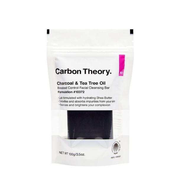 Bánh rửa mặt ngăn ngừa mụn Carbon Theory Breakout Facial Cleansing Bar
