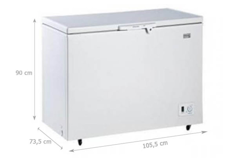 TỦ ĐÔNG ELECTROLUX ECM2950WA-VN 290 lít - Hàng chính hãng (chỉ giao HCM)