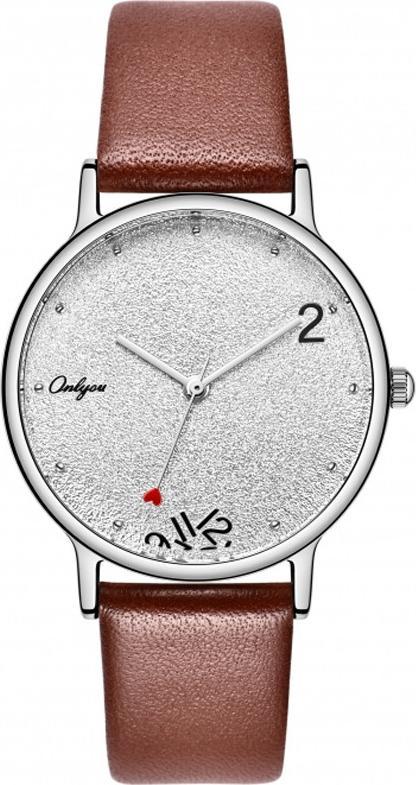 Đồng hồ Onlyou Nữ 520011LA Dây Da 28mm