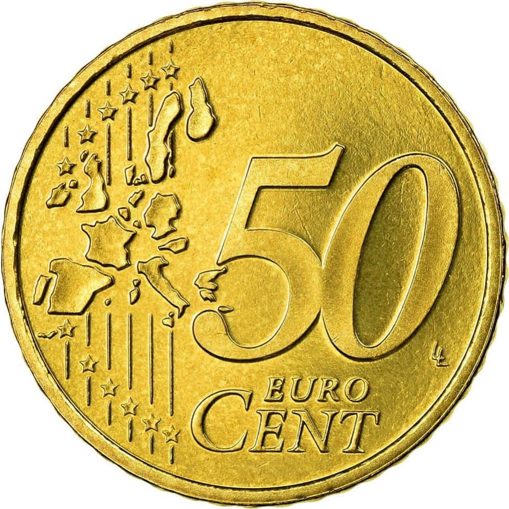Xu thế giới 50 cent Euro sưu tầm