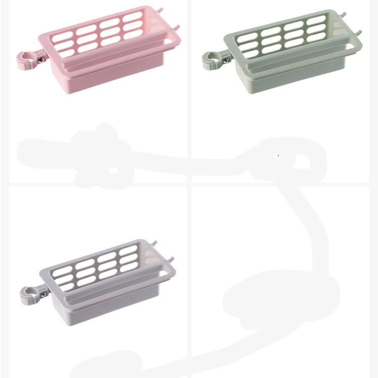 Khay nhựa đa năng để lưới rửa chén treo khăn kẹp vòi nước tiện lợi