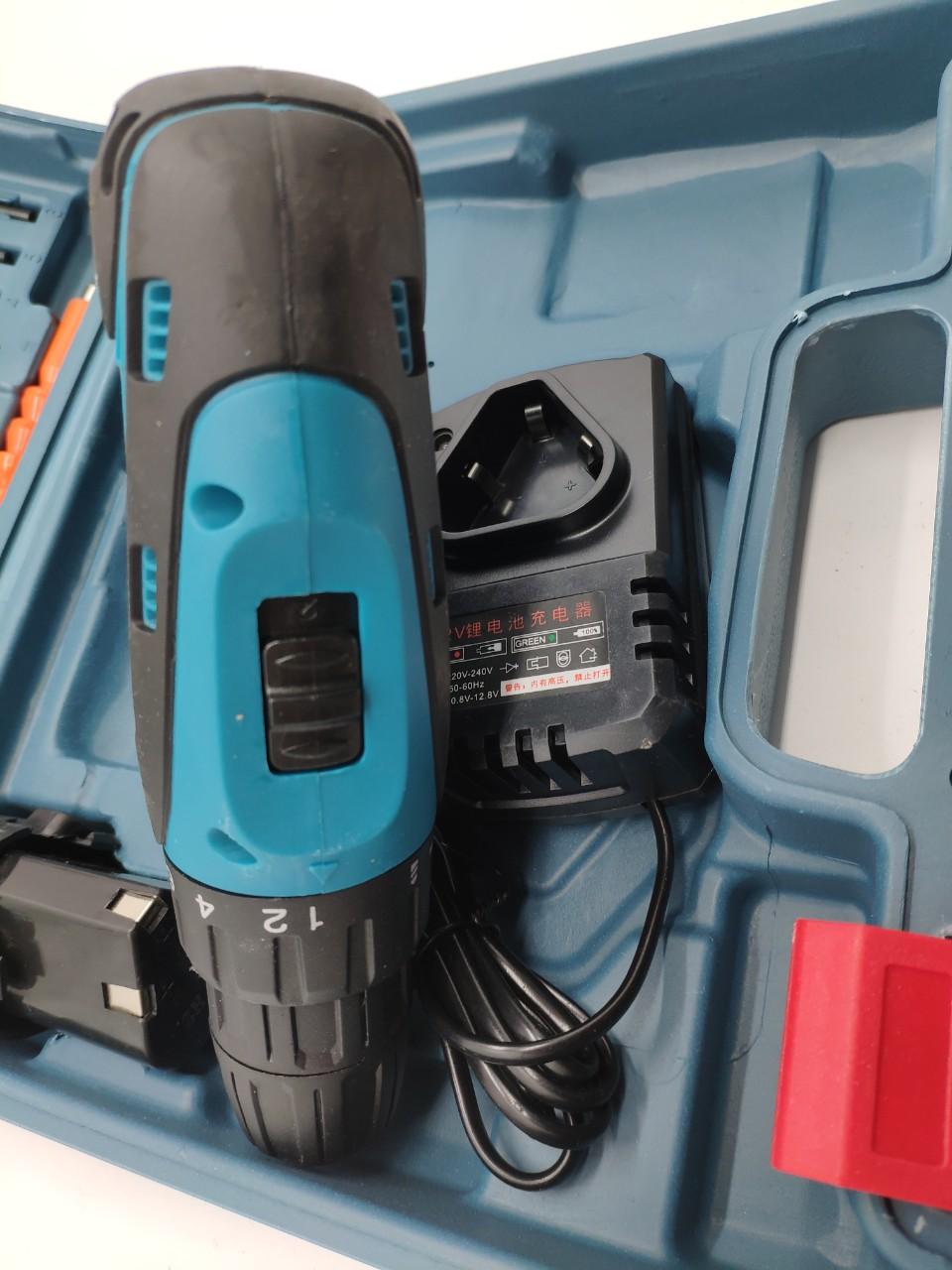 Bộ máy khoan PIN 12V Bắn vặn vít sữa chữa đa năng
