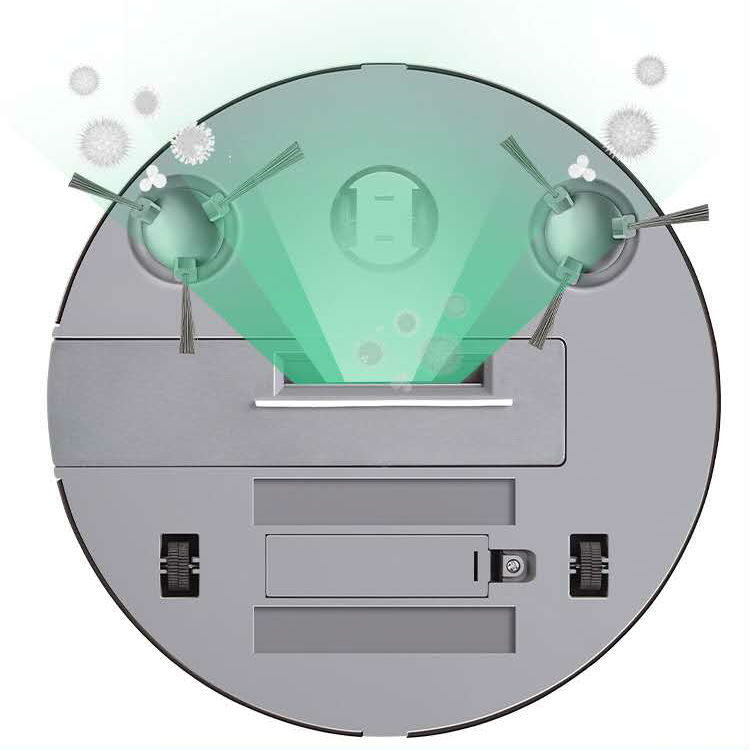 Robot hút quét bụi tự động thông minh (Trắng)