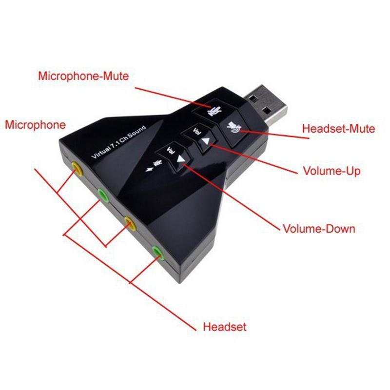 Bộ Chuyển Đổi USB to Sound 3D Virtual 7.1 Hình Phi Thuyền Azone