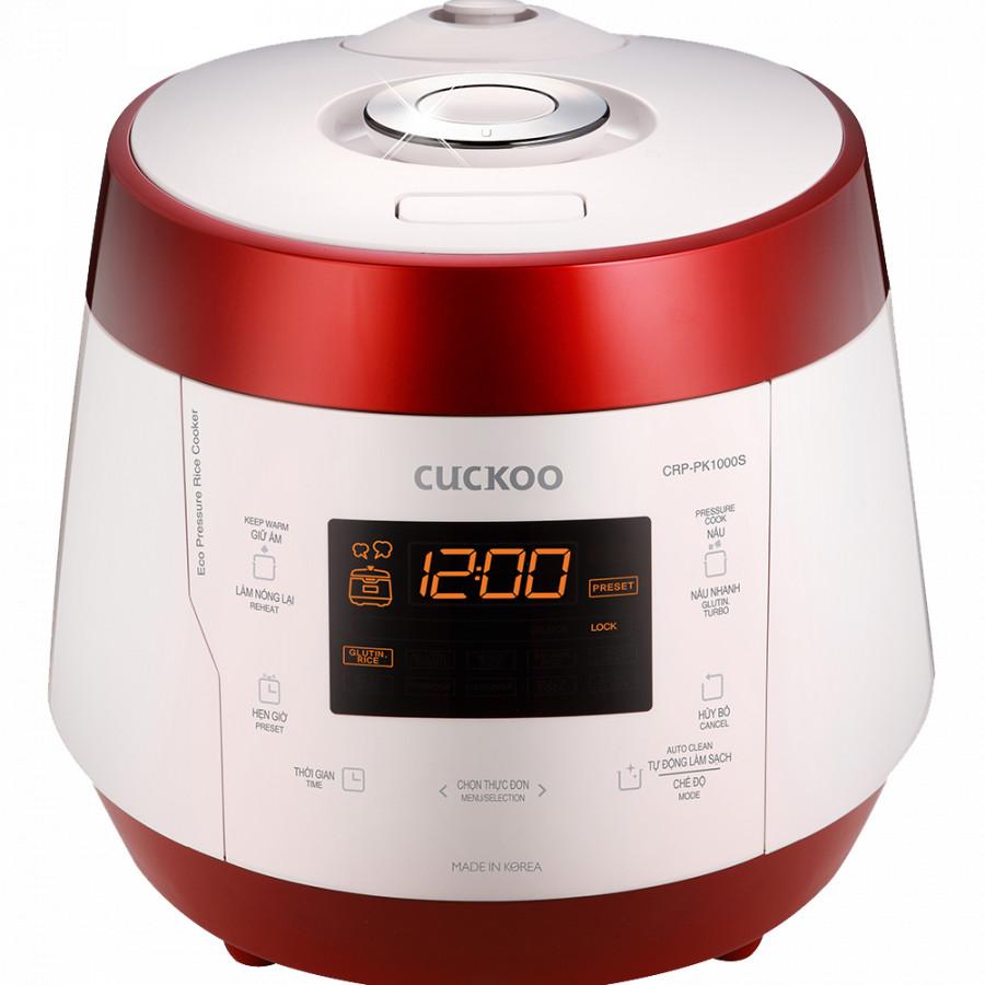 Nồi cơm áp suất điện tử Cuckoo CRP-PK1000S - 1.8 Lít - Hàng Chính Hãng