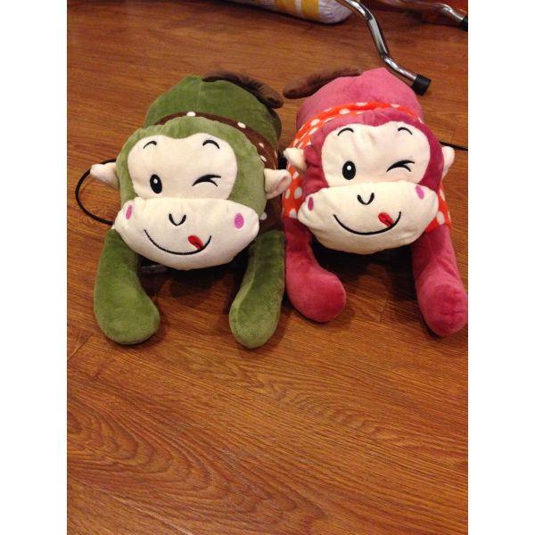 Túi Sưởi Ấm Lưng Họa Tiết Con Khỉ Đa Năng (1 Sản Phẩm)- Dùng Điện  - Màu Giao Ngẫu Nhiên - Mẫu TSC0174