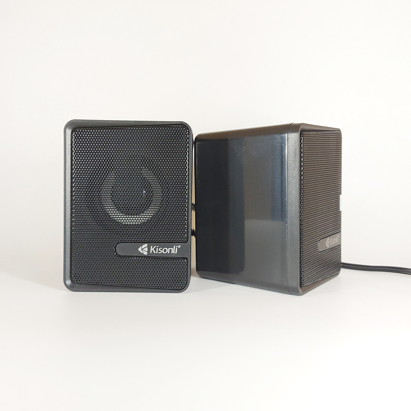 Loa vi tính Kisonli L-4040 có đèn led - stereo cực hay (HÀNG CHÍNH HÃNG)