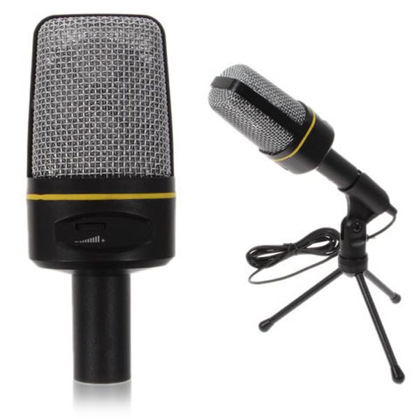 Micro thu âm chất lượng cao dùng cho máy tính ,laptop hô trợ học Online, chat videocall
